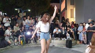 """20190805 홍대 버스킹 댄스팀 클락 """"오늘부터 우…"""