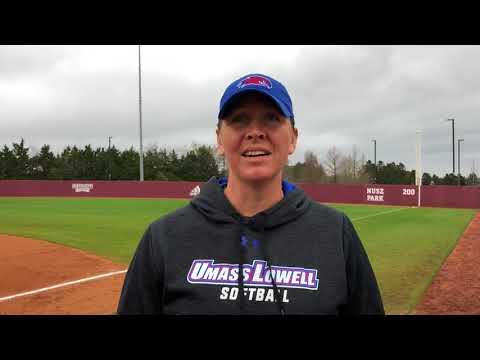 Head Coach Danielle Henderson Postgame at MSU