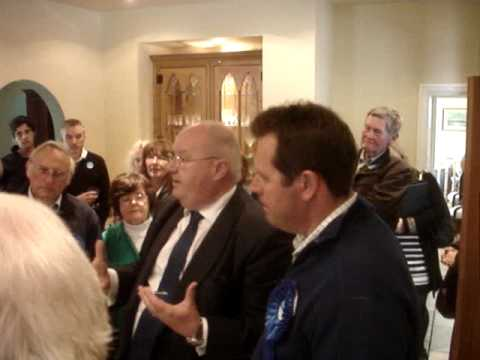 Eric Pickles, Conservative Party Chairman, in Sherwood, Mon 3 May 2010