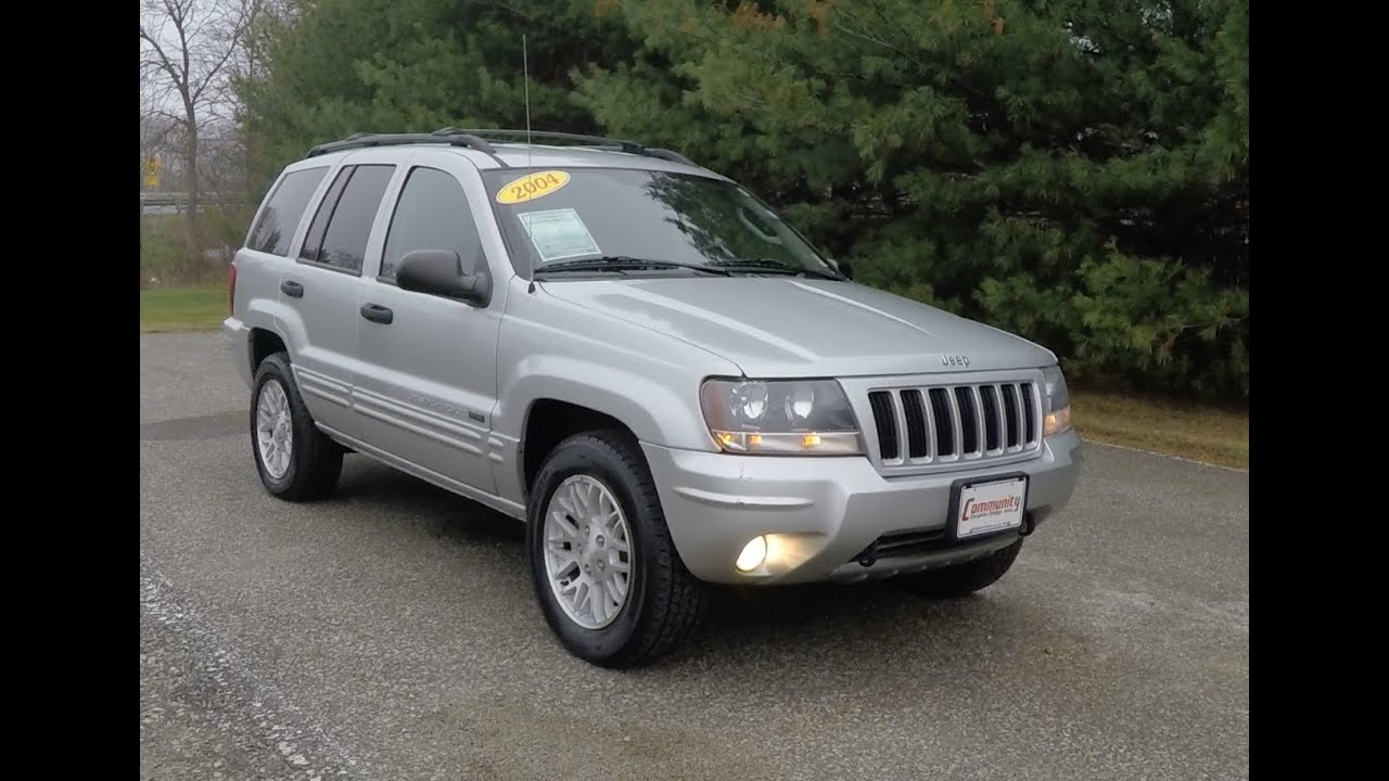 Charming 2004 Jeep Grand Cherokee Laredo Special Edition 4X4|P10753A