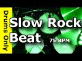 Download Slow Rock Drum Beat 75 BPM - JimDooley.net MP3 song and Music Video