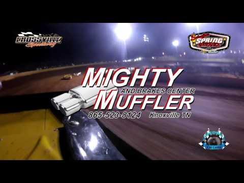#7 Donald Mcintosh - Super Late Model - 5-19-17 Crossville Speedway - In-Car Camera