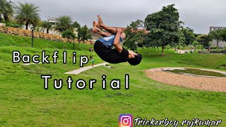 How to do a Back Flip Tutorial | Rajkumar Karki