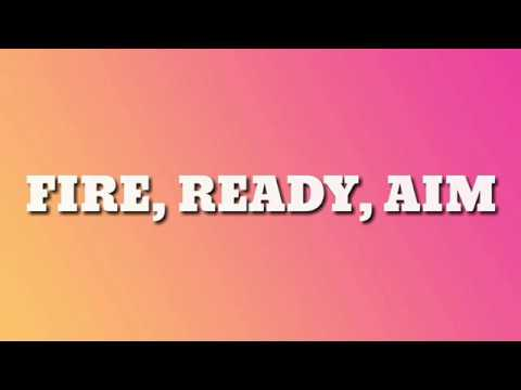 Green Day - Fire, Ready, Aim (Lyrics)