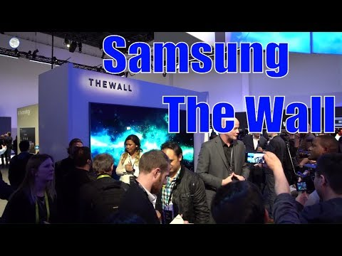 Samsung Unveils Wall Micro Led