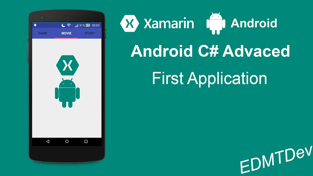 xamarin android tutorial first app
