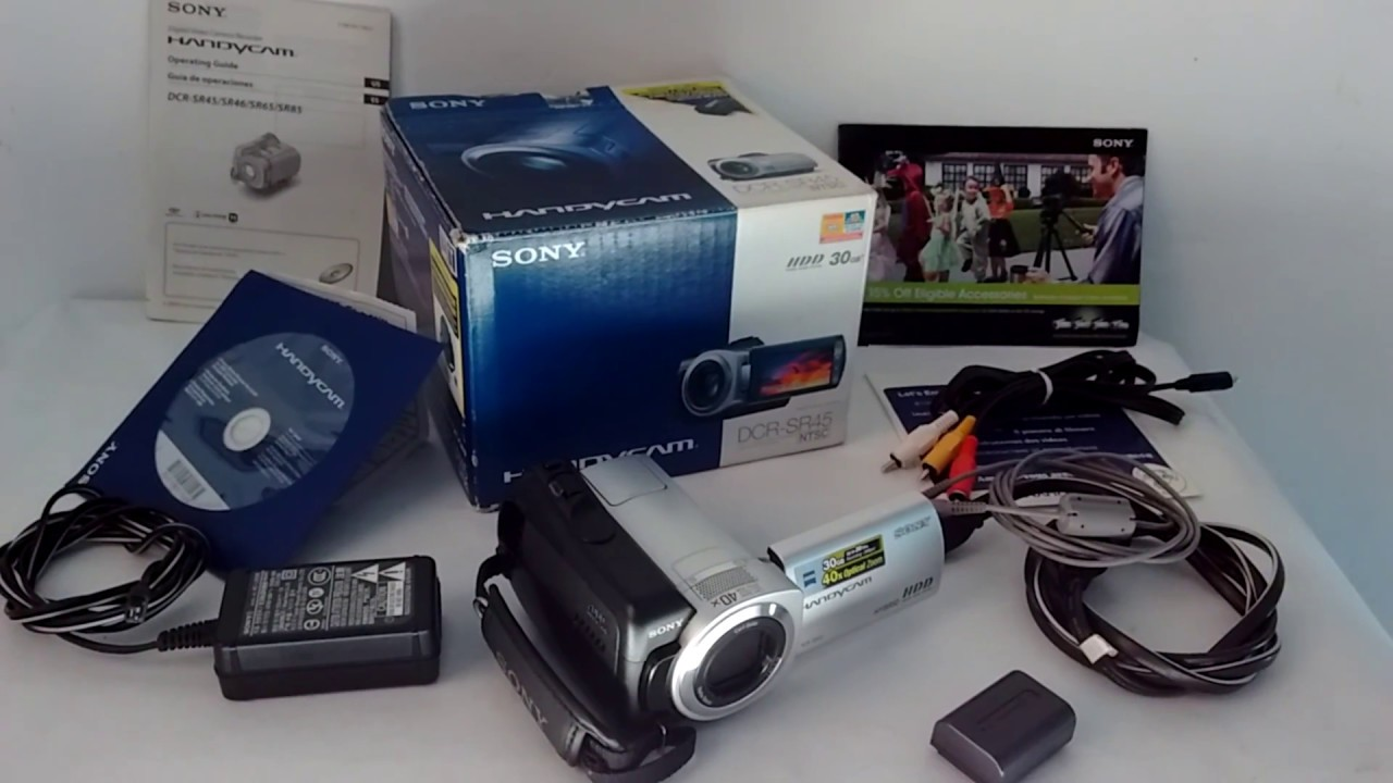 SONY HANDYCAM DCR SR45 DRIVER WINDOWS XP