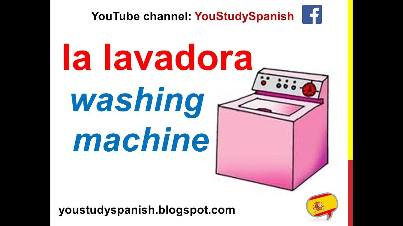 Home appliances in spanish