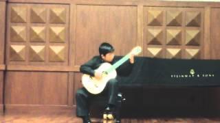 Domenico  Scarlatti  -  Sonata K 322  :  Richard  Kim  ( 10 )