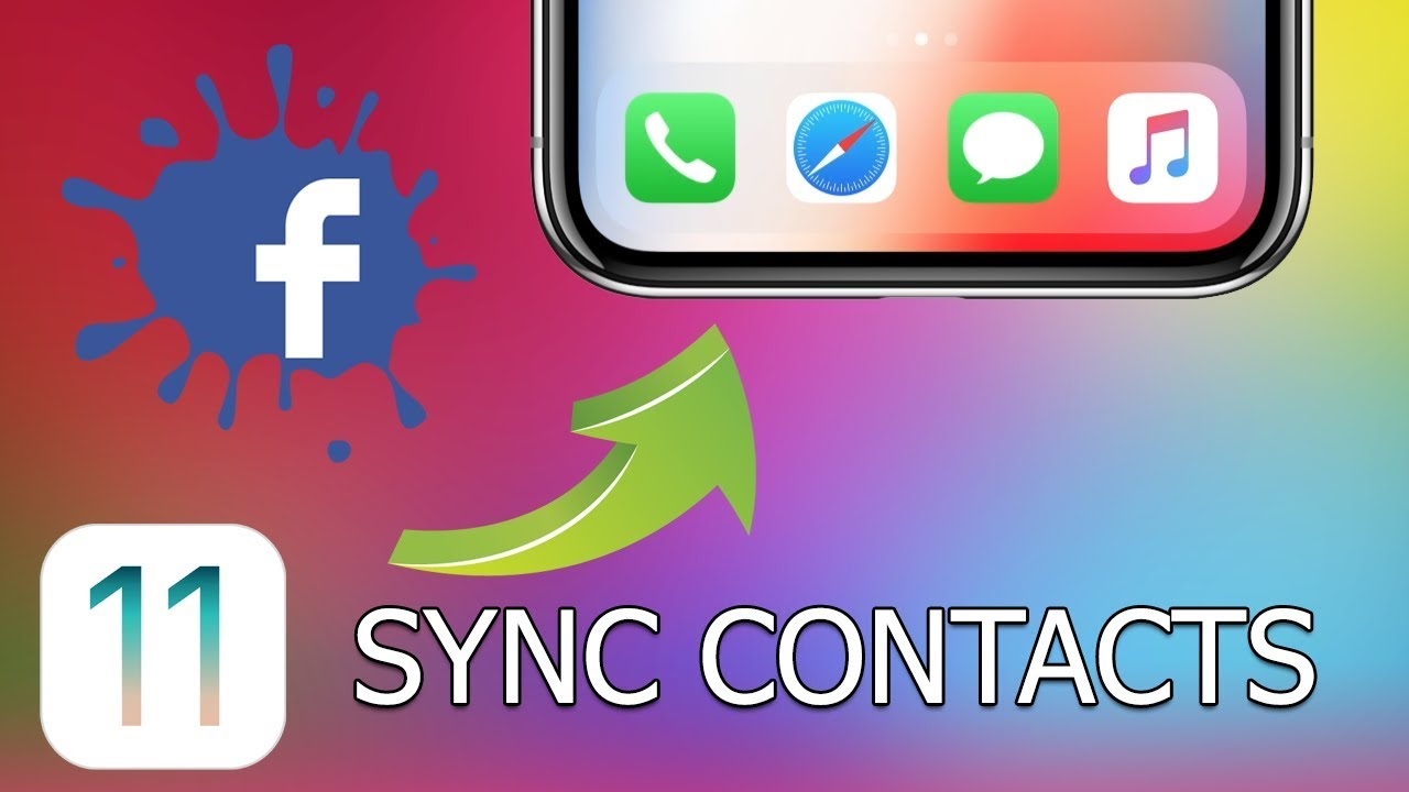 how to sync facebook contacts to iphone how to sync contacts with iphone and with 20341