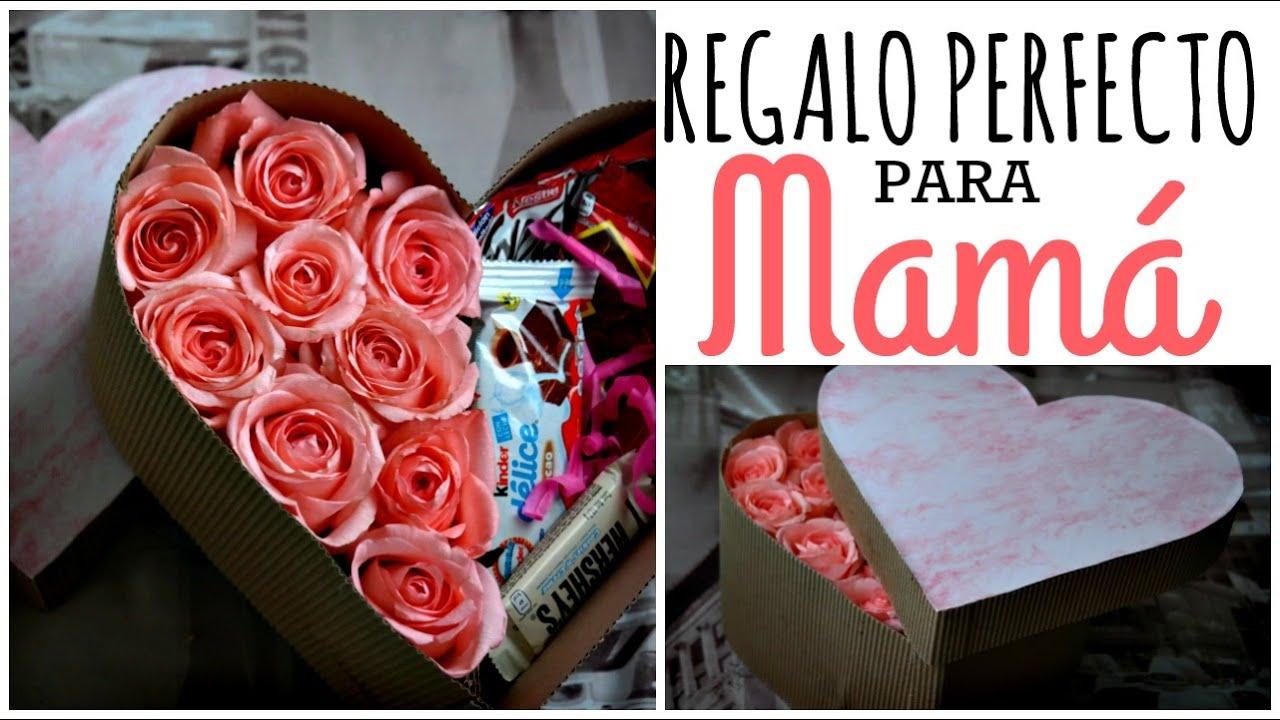 Caja De Rosas Regalo Fácil 10 De Mayo