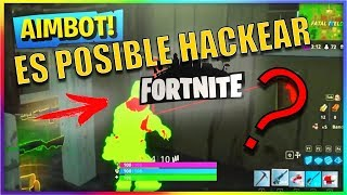 Can HACKS be used in FORTNITE (Battle royale)?