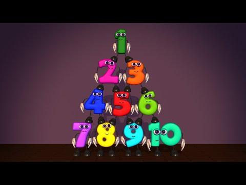 Descargar Video Los números bailarines - Aprender a contar bailando y cantando - Canciones infantiles en español
