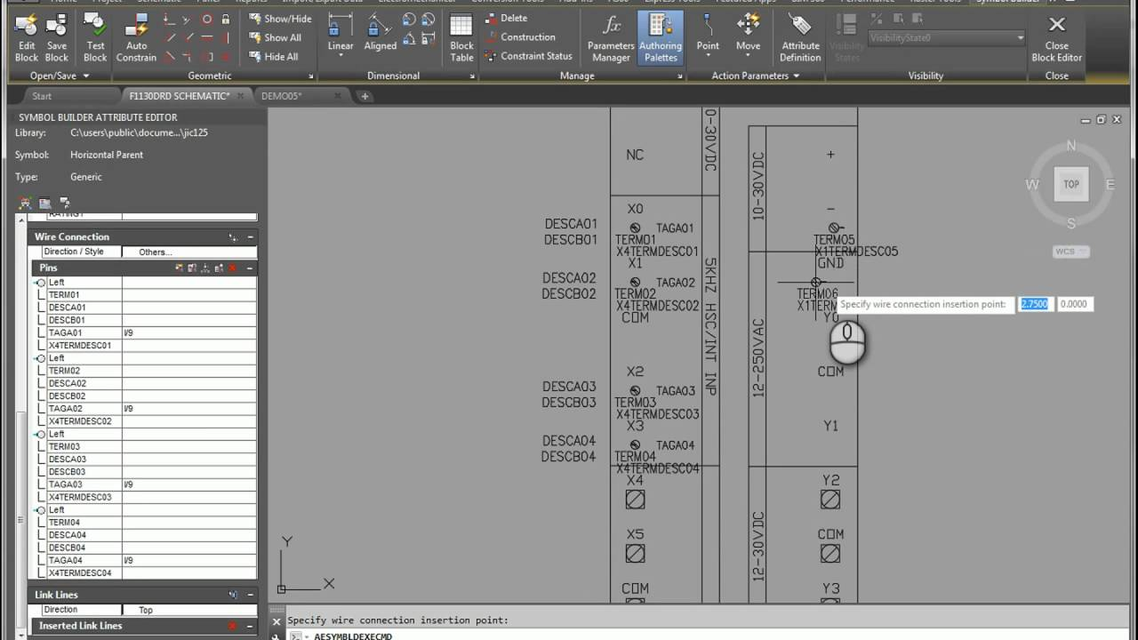 Autocad Electrical Full Unit Plc Creation In Wiring Diagram Harness 2016