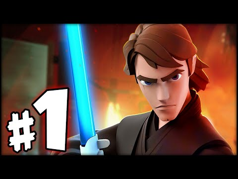DISNEY INFINITY 3.0 STAR WARS - Twilight of the Republic Playset - Part 1