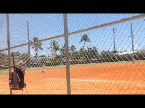 A softball Game USCG vs US Navy