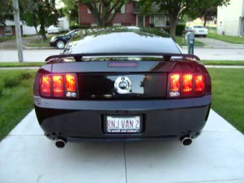 2006 Ford Mustang Squential Tail Lights