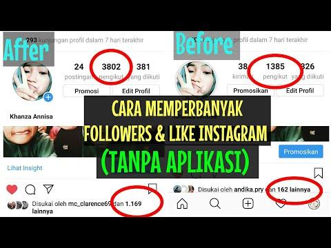 Menambah Followers Liker View Instagram Mudah Jadi Selebgram Tanpa