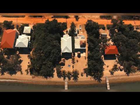 Drone Footage Hopkins Belize, Villa Rising Sun