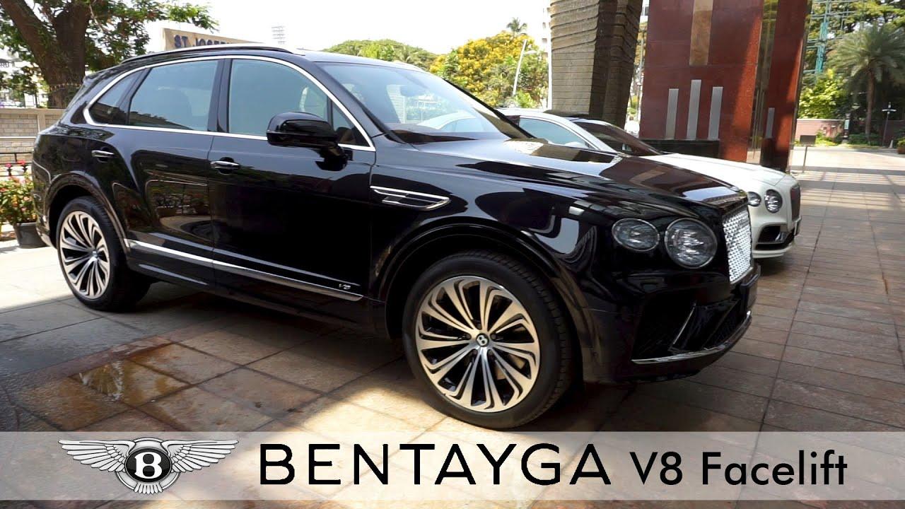Download 2021 Bentley Bentayga facelift showcased in Bengaluru