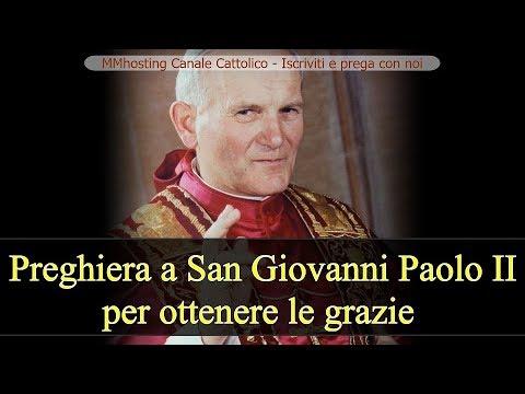 Preghiera per implorare grazie per intercessione di San Giovanni Paolo II