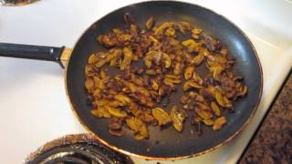 Cooking Pan Fried Southern Summer Squash.avi