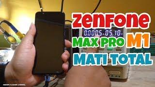 Cara Memperbaiki Asus Zenfone Max Pro M1 (X00TD) Mati Total // Step by Step Sampai DONE