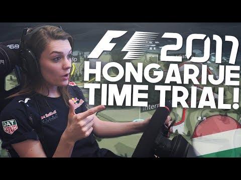 SUPER SNEL! F1 HONGARIJE HUNGARORING TIME TRIAL! (Formule 1: 2017)