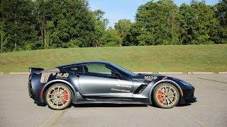 Procharged C7 Corvette Z06 - POV Test Drive (Binaural Audio)