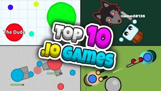 Top 10 Best .io Games Of All Time!