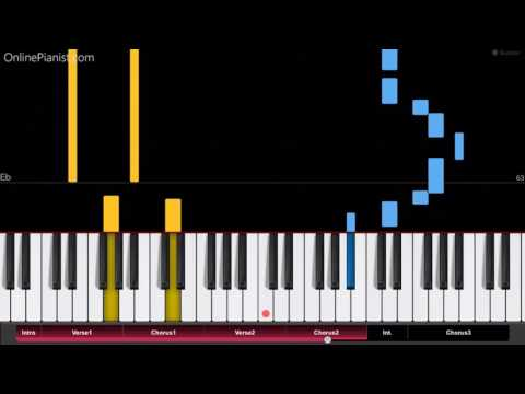 Robin Schulz - OK ft. James Blunt  - EASY Piano Tutorial