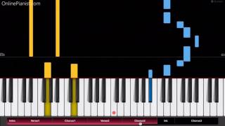 Robin Schulz OK ft James Blunt EASY Piano Tutorial