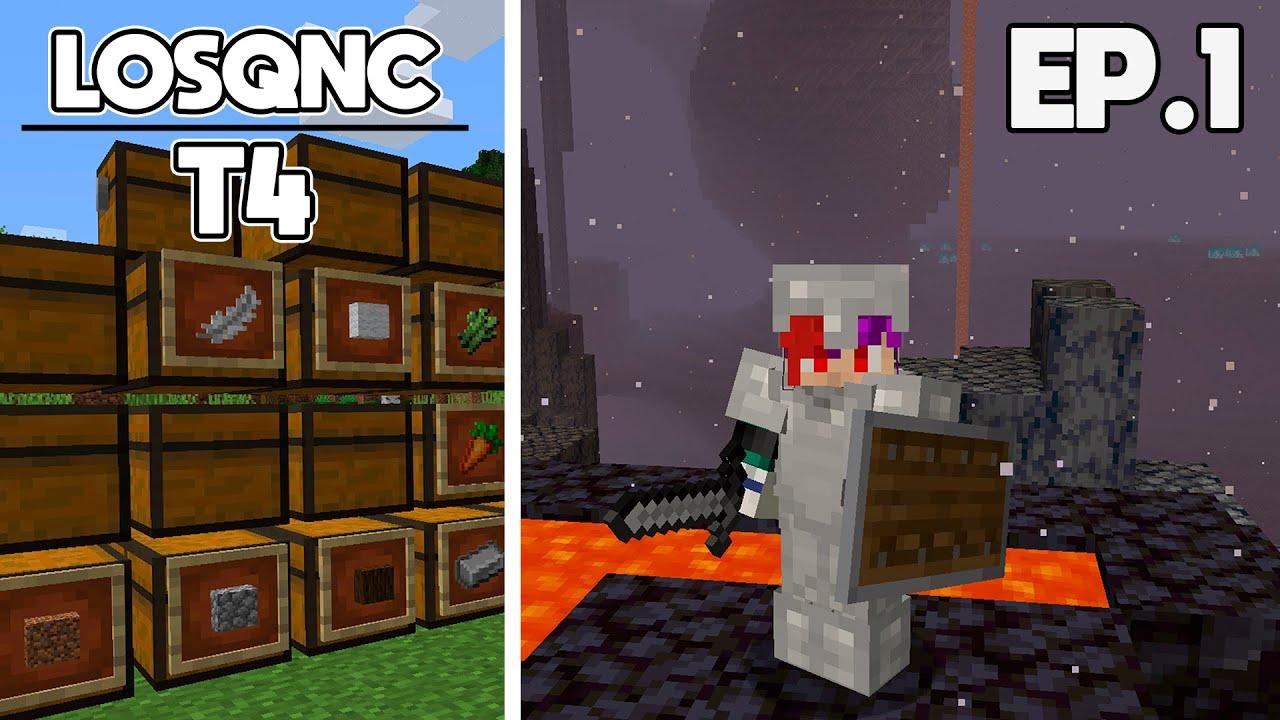 Minecraft Survival 1.16 [LOSQNC T4] Ep.1 | NUEVO MUNDO & VISITAMOS EL NUEVO NETHER 🔥