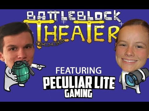 Pro Gamers Back in Action! | Battleblock Theater feat. Peculiar Lite Gaming - Act 1 Chapter 1