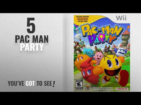 Top 10 Pac Man Party [2018]: Pac-Man Party - Nintendo Wii