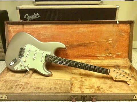 Fender Stratocaster 1959 Original (Setup And Sound Check)