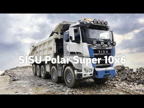 Sisu Polar Super 10x6 for mining industry