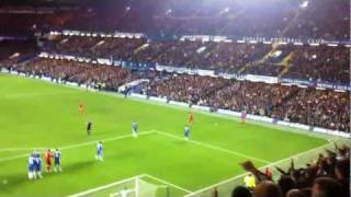 Liverpool FC Away fans - Liverpool v Chelsea Away 29/11/11 Carling Cup