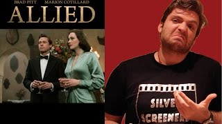 Allied Movie Review UK – Silver Screen Dudes