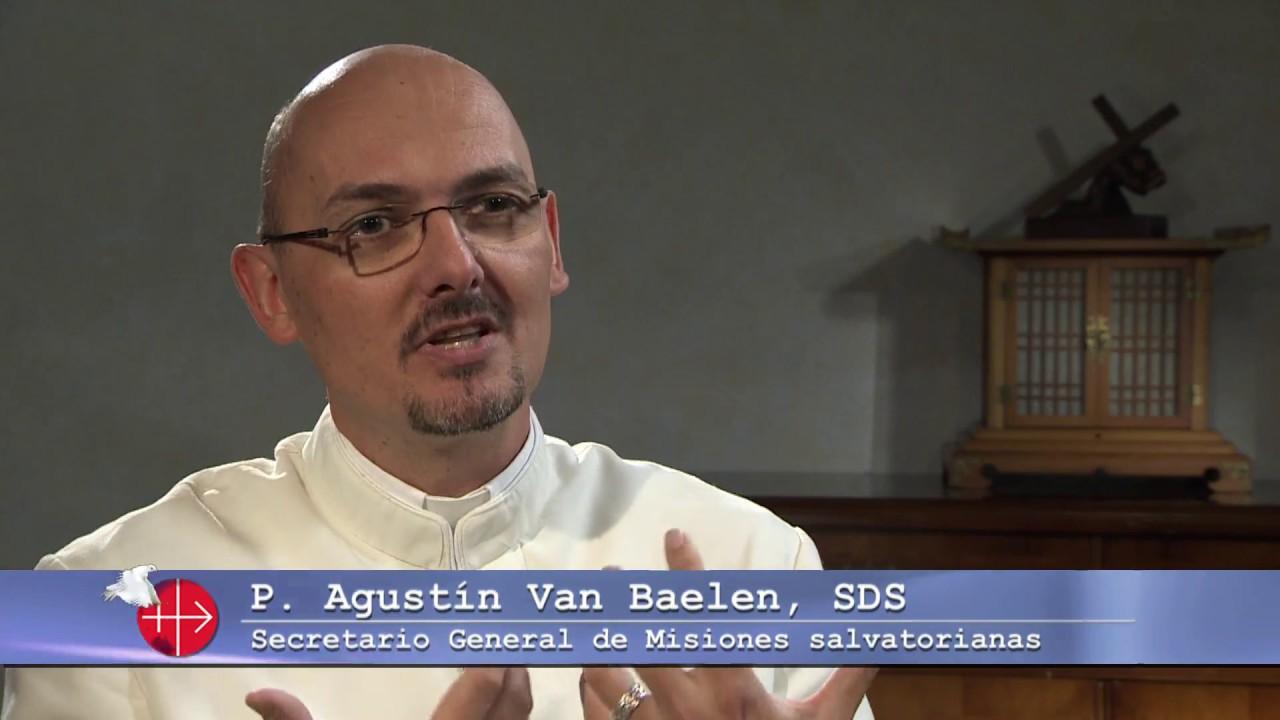 Padre Agustín Van Beulen, SDS Secretario General de Misiones Salvatorianas