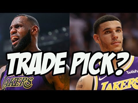 Will The Lakers Draft Someone or Trade The 4th Pick?