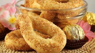 Итальянское Сахарное Печенье Торчетти.Torcetti Biscotti Piemontesi