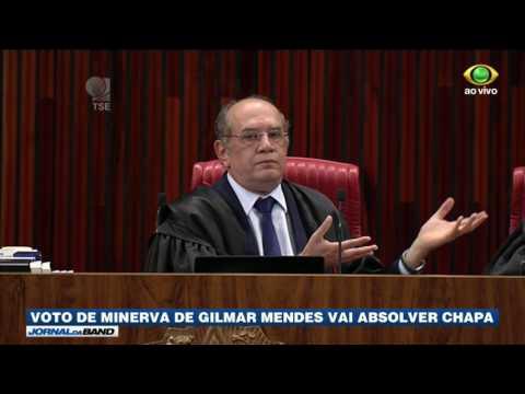 Gilmar Mendes vai decidir julgamento no TSE