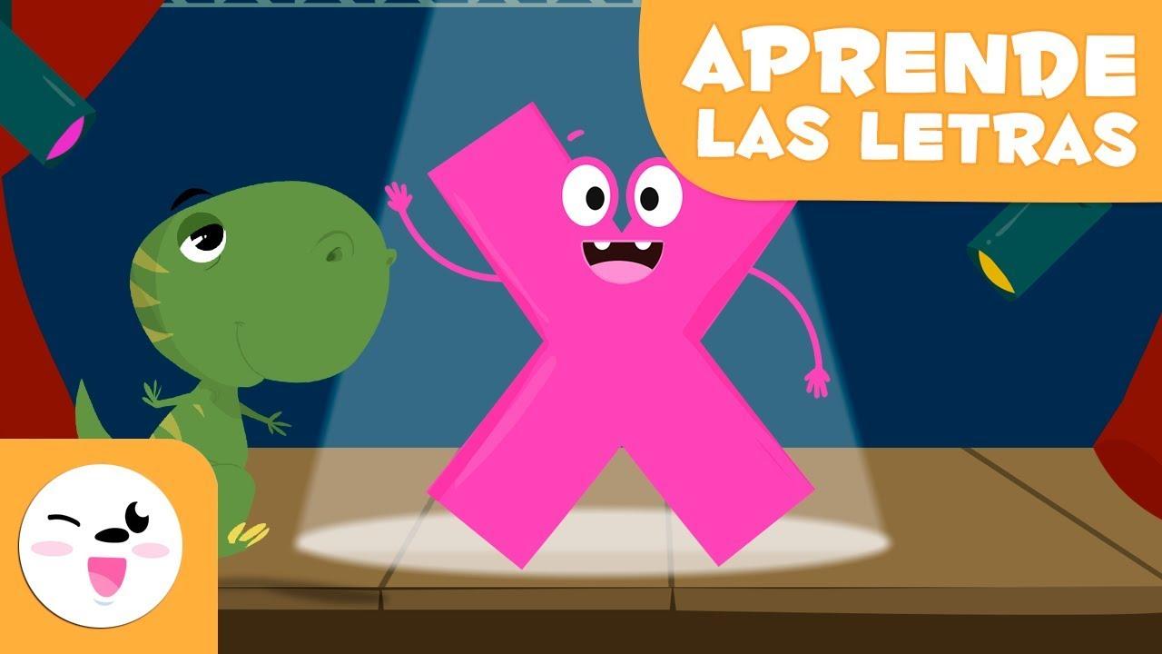 Aprende La Letra X Con Maxi El T Rex El Abecedario