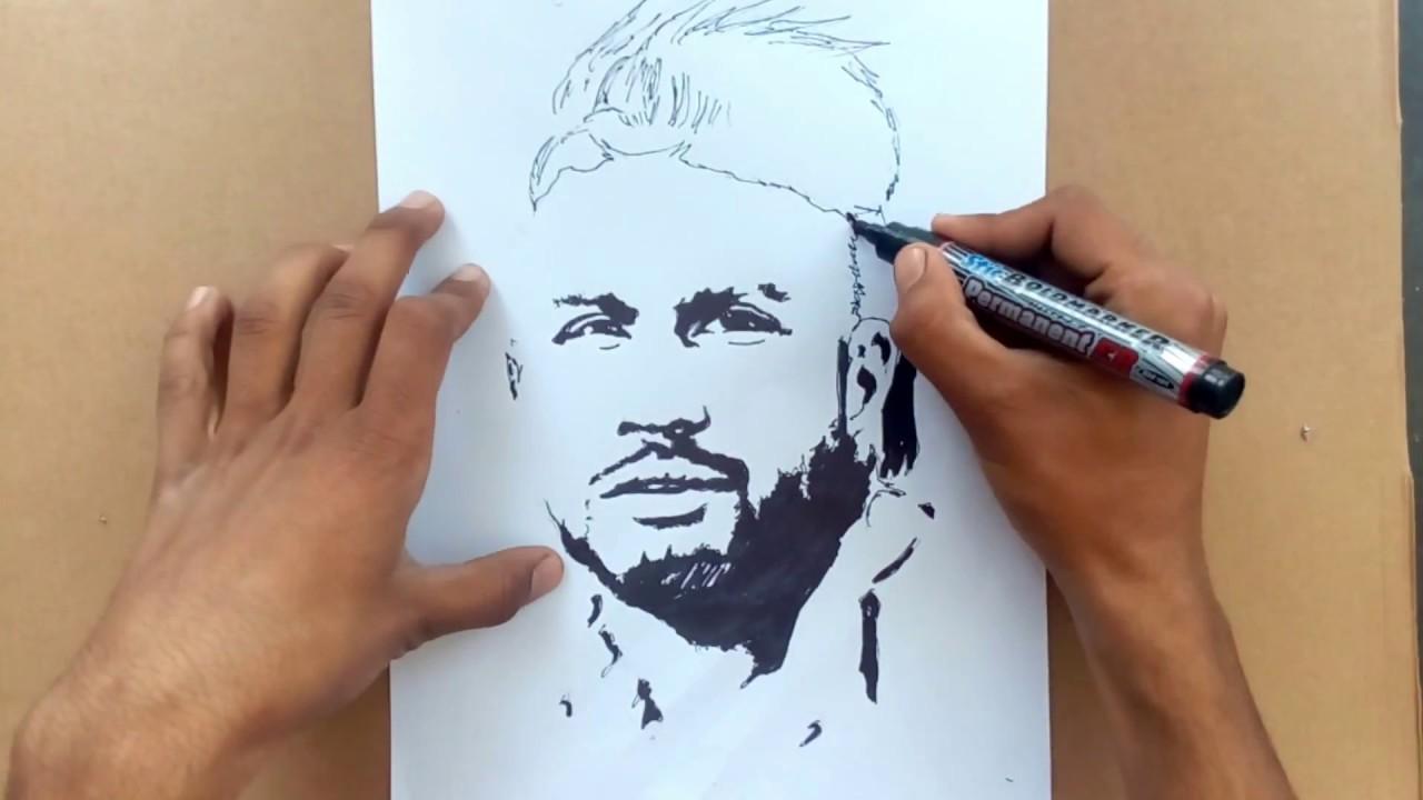 Sketch of sukhe muzical doctorz