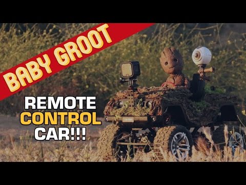 Baby Groot Remote Control Car