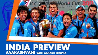 #CWC2019: INDIA - Can KOHLI lead the BLUES to a 3rd TITLE? #AakashVani