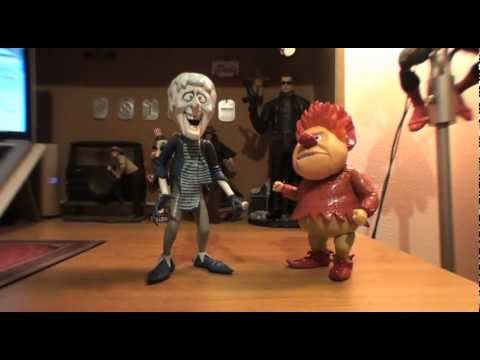 Turmoil In The Toybox - NECA Snow and Heat Miser Figures from The Year Without A Santa Claus