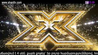 X-Factor4 Armenia-Gala Hamerg 0119.02.2017