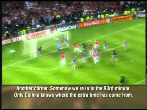 Manchester United Champions League Final 99' (German Commentary)